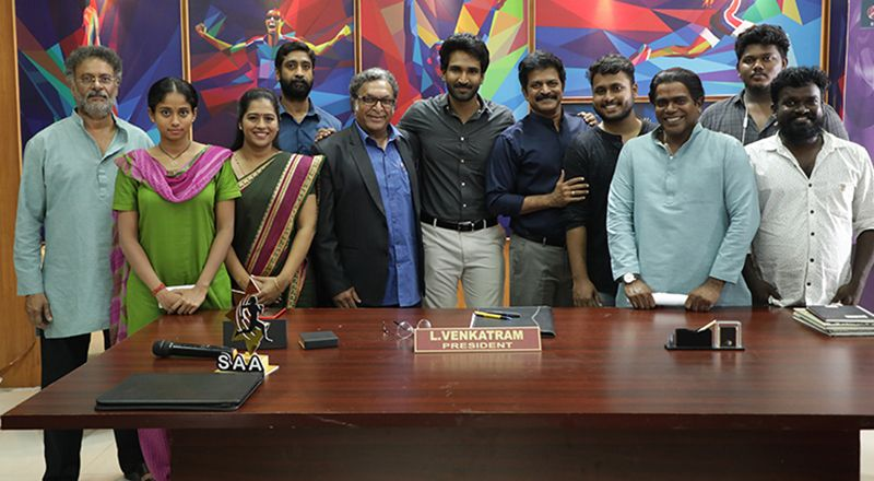 "ACTOR AADHI'S BILINGUAL FILM ""CLAP"""