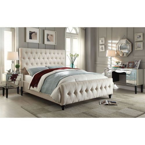 Celeste Upholstered Bed Upholstered Beds Upholstered Bed Decor