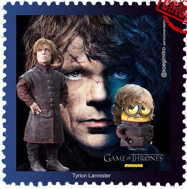 Game Of Thrones Minions Tyrion Lannister