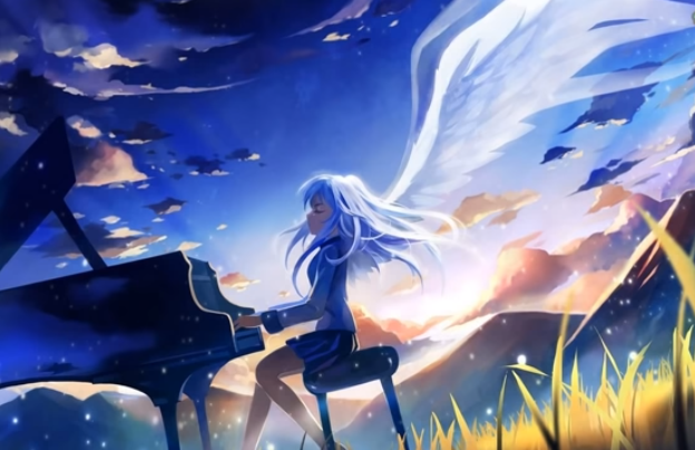 Anime With Piano Angel Beats Anime Angel Beats Anime Wallpaper