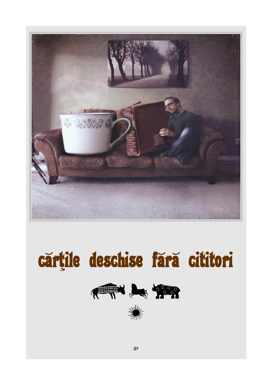 Gabi Schuster - Carti deschise fara cititori