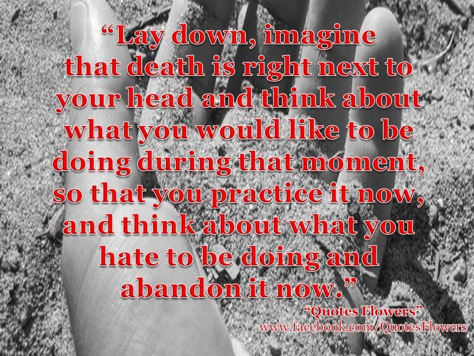 Death... | Quotes flowers | Pinterest