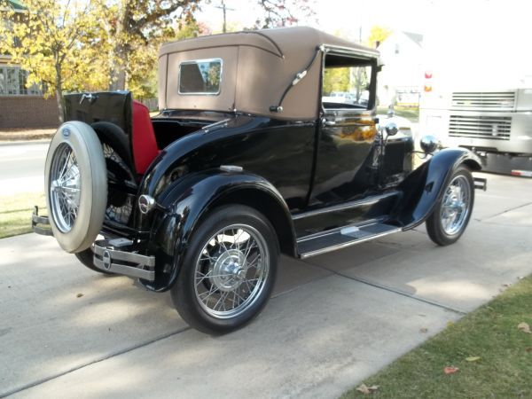 Dream cars · 1929 Ford Model A Sports Coupe For Sale! & 1929 Ford Model A Sports Coupe For Sale! | Autos With Style ... markmcfarlin.com