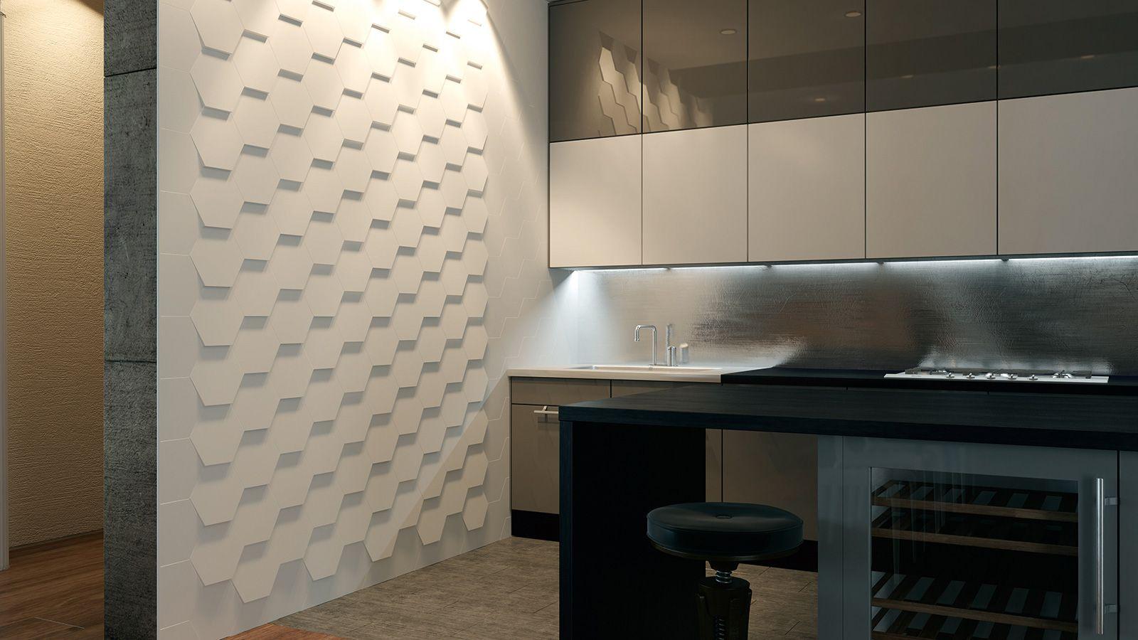 3D ceramic surfaces Tile WOW unexpectedsurfaces Hexa
