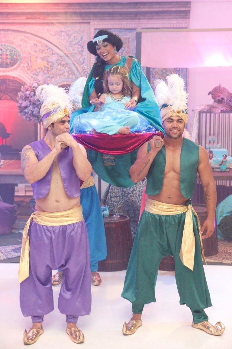 Tema Jasmine para festa - Perla - 5 anos Aladdin Birthday Party 19263ec14d46b