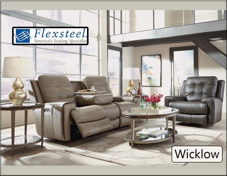 Fantastic Flexsteels Wicklow Collection Is A Luxurious Sofa Set With Inzonedesignstudio Interior Chair Design Inzonedesignstudiocom