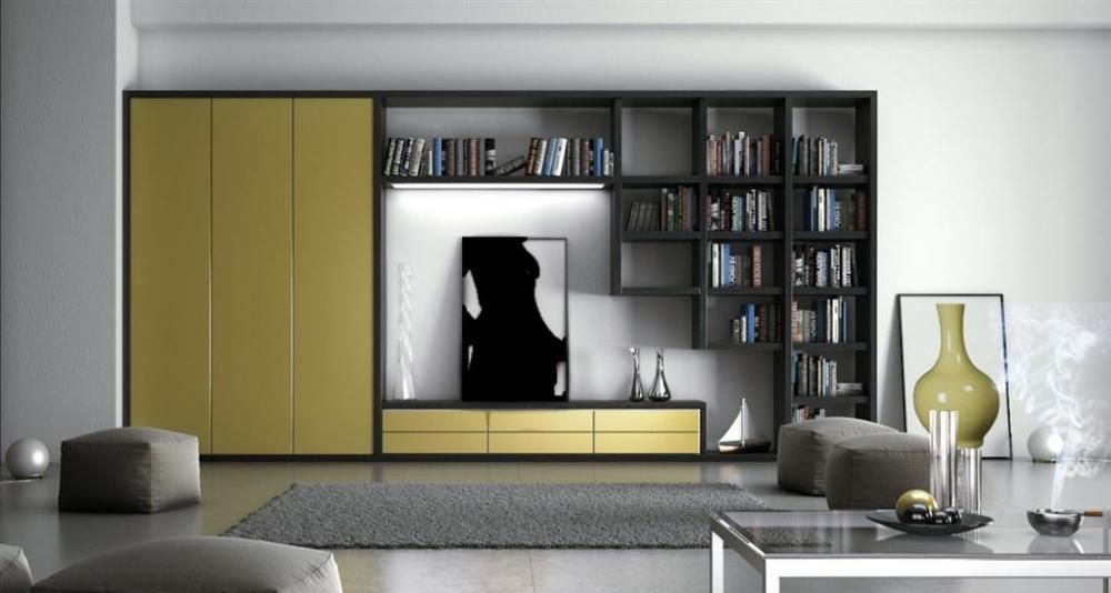 living room wall cabinets built%0A Storage    Statue of How to Make a Perfect Interior Design with Built In  Bookshelves