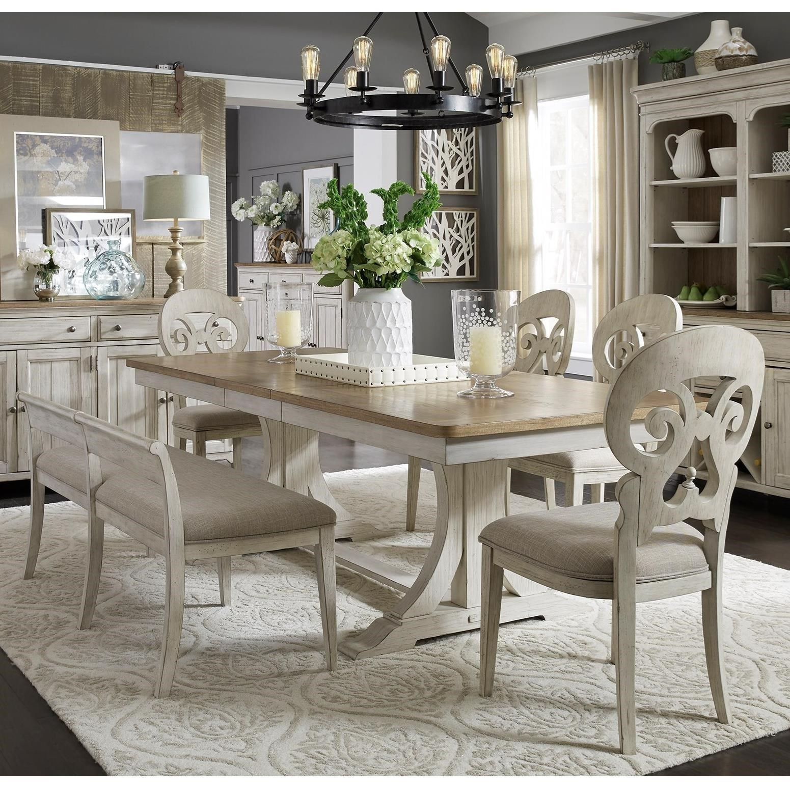 Farmhouse Reimagined Dining Room Group By Liberty Furniture