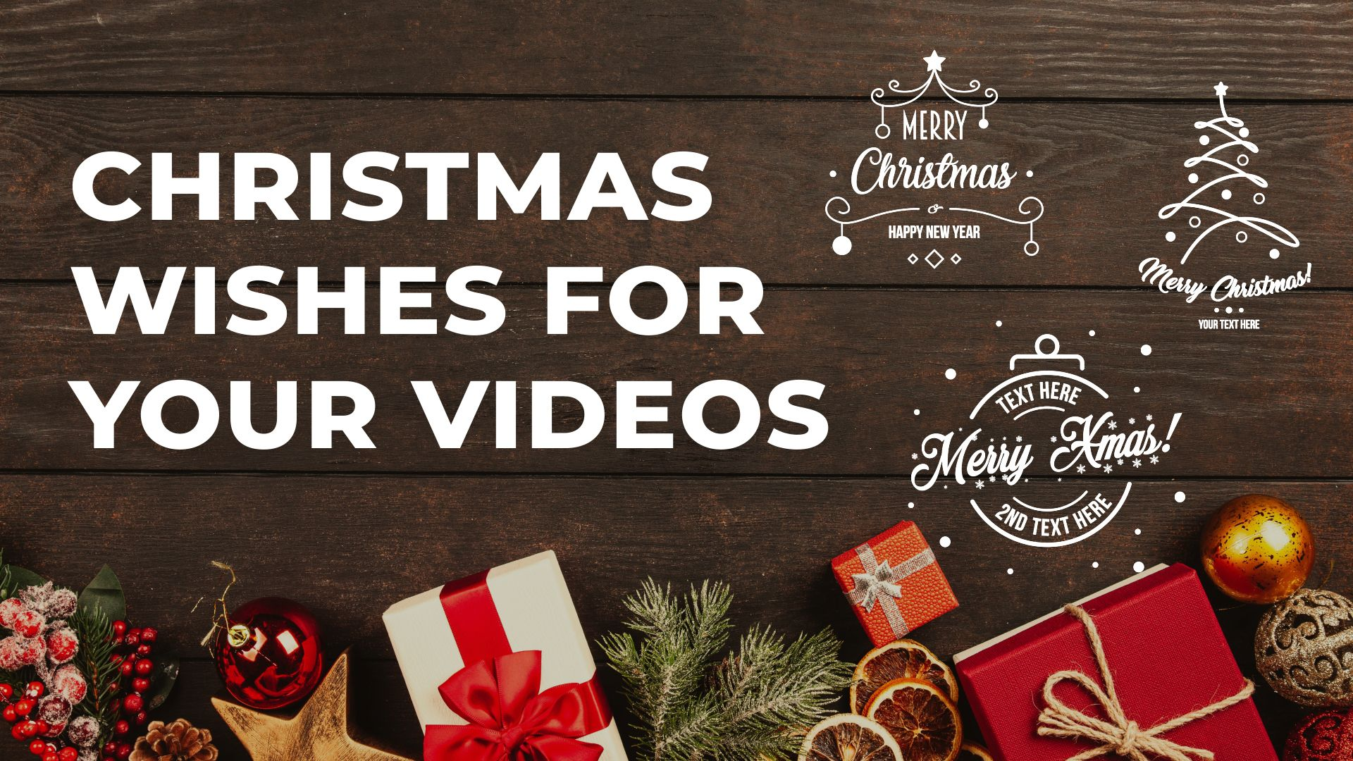 Free Animated Christmas And New Year Greetings Titles After Effects Template Animated Christmas New Year Greetings Christmas And New Year