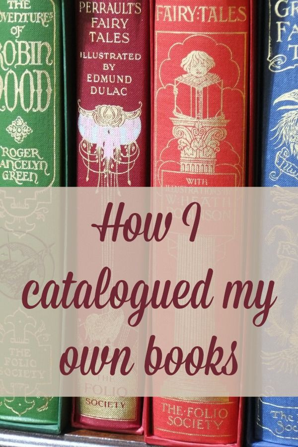 How I catalogued my personal library | Them, Library of congress ...