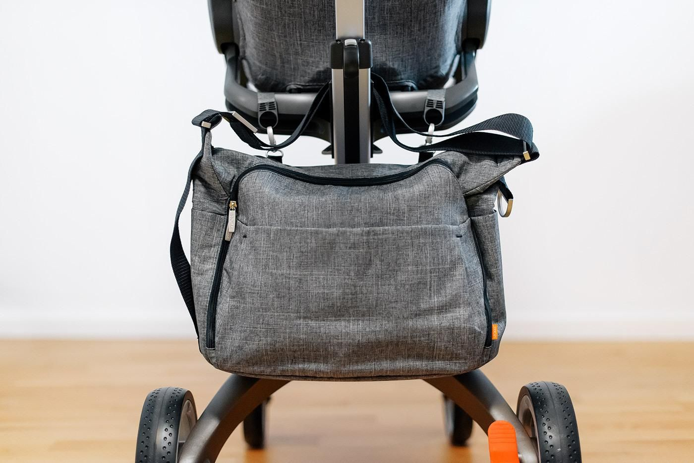Stokke Stroller Changing Bag Setting Up My Nursery With Images Stokke Stroller