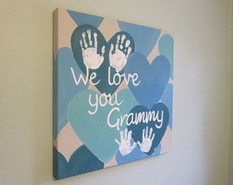 15 Unique DIY HandPrint Ideas To Gift Your Amazing Family and Friends #hjemmelavedegaver