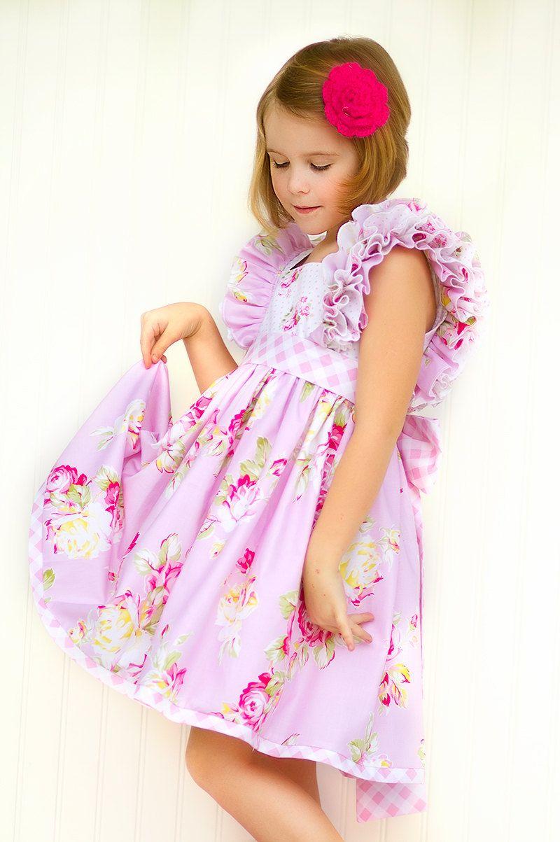 Vestido de niñas niño infantil Pascua Lily por KinderKouture ...