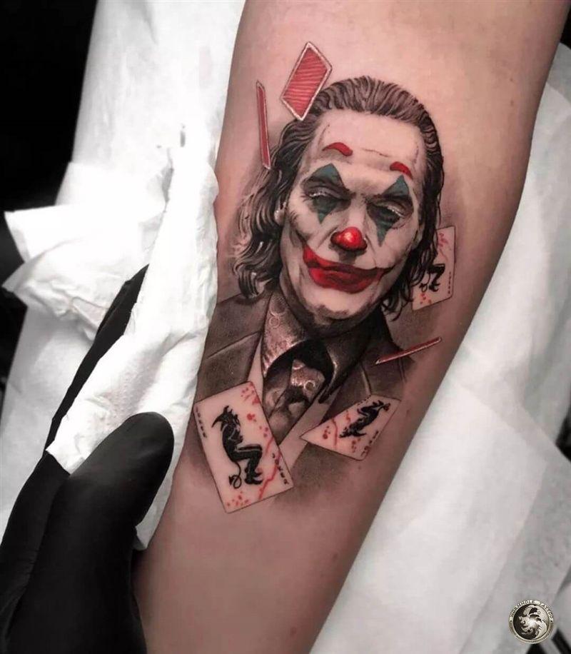 Put On A Happy Face Joker Tattoo Tattoo Kits Tattoo Machines Tattoo Supplies丨wormhole Tattoo Supply In 2020 Tattoo Style Art Joker Tattoo Design Ink Tattoo
