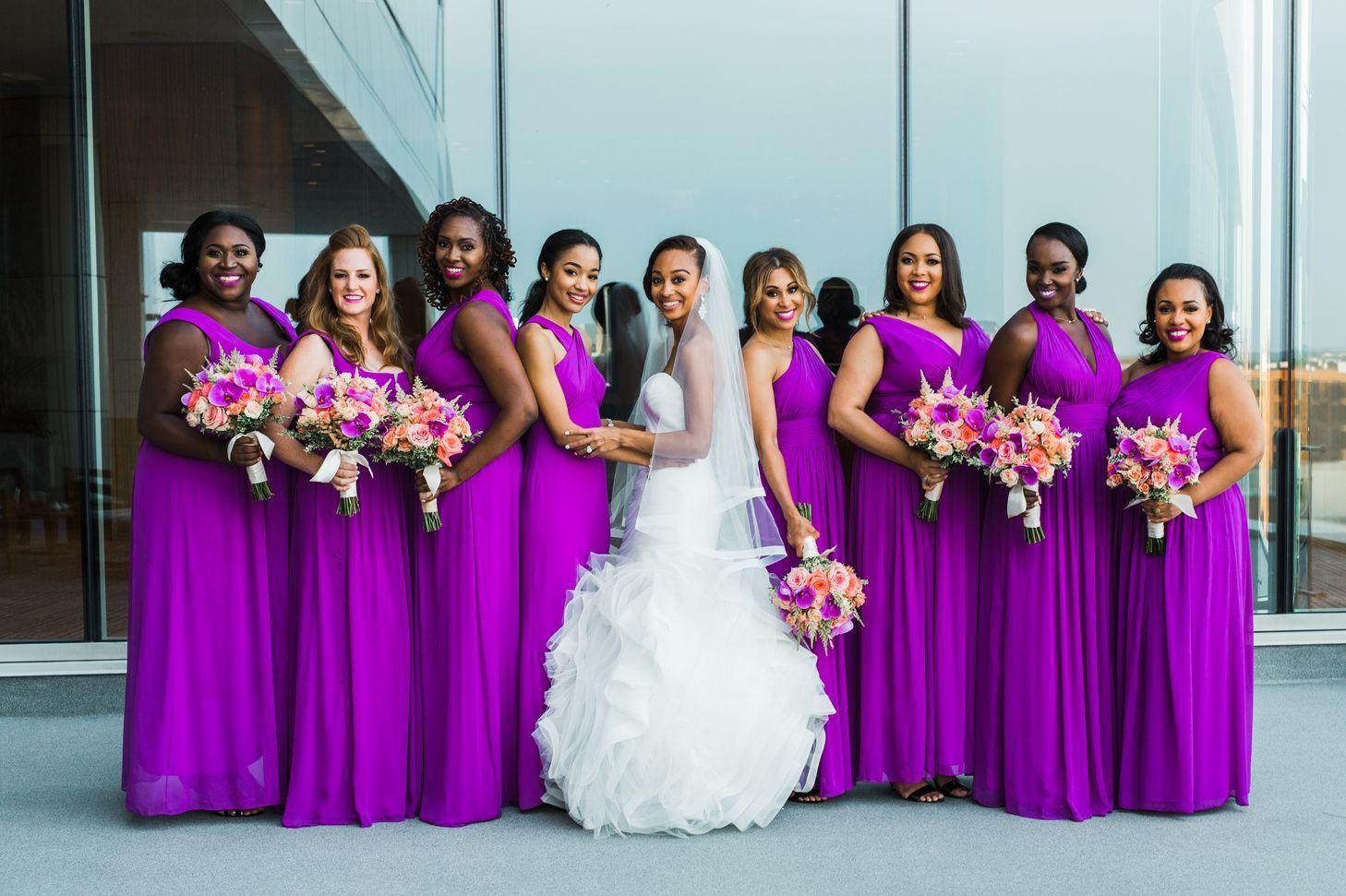 Bright Purple Bridesmaid Dresses Bright Purple Bridesmaid Dresses Purple Bridesmaid Dresses Orchid Bridesmaid Dresses