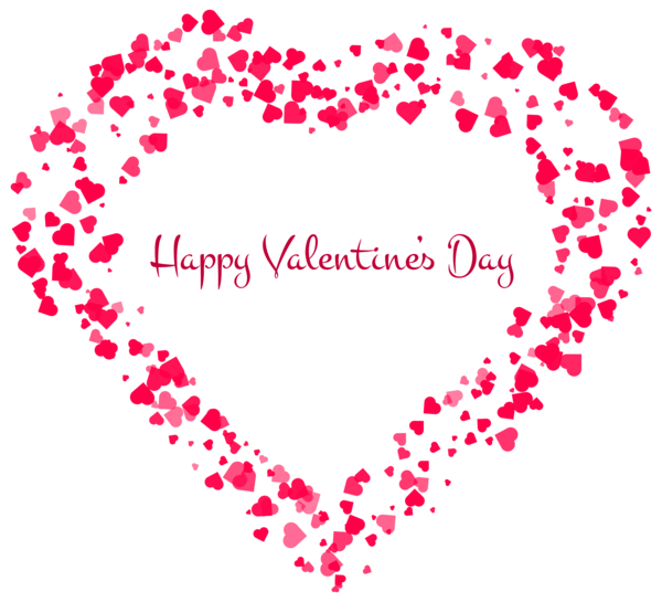 Happy Valentine S Day Decorative Heart Transparent Png Clip Art Image Happy Valentine Valentines Day Clipart Happy Valentines Day