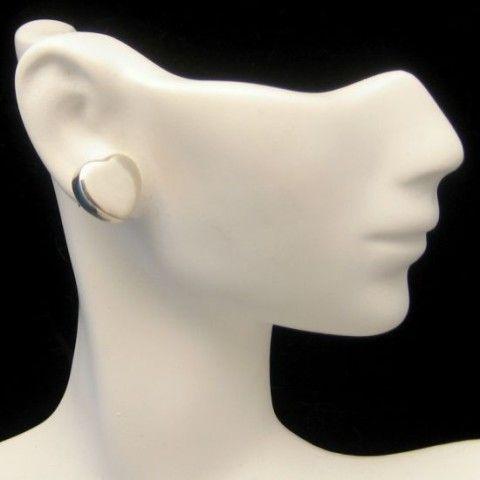 Lovely #Vintage #Sterling #Sweetheart #Heart Post #Earrings Great #Valentine #Gift from #MyClassicJewelry on #eBay See more Beautiful Vintage Earrings in my Store: http://stores.ebay.com/My-Classic-Jewelry-Shop/Earrings-/_i.html?_fsub=1589283016&_sid=102404336&_trksid=p4634.c0.m322