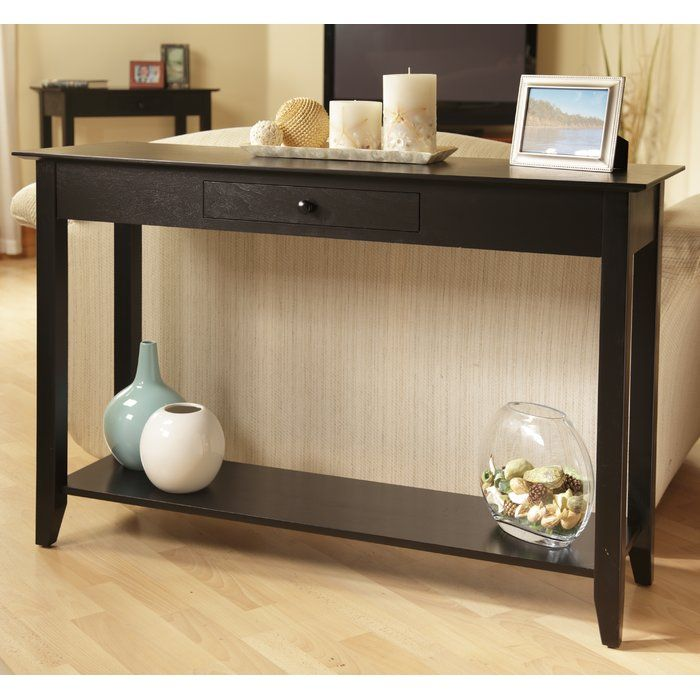 Greenspan Console Table Black