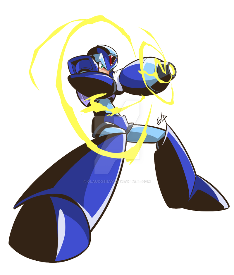 Megaman X Fanart By Glaucosilva On Deviantart Mega Man Art Mega Man Fan Art