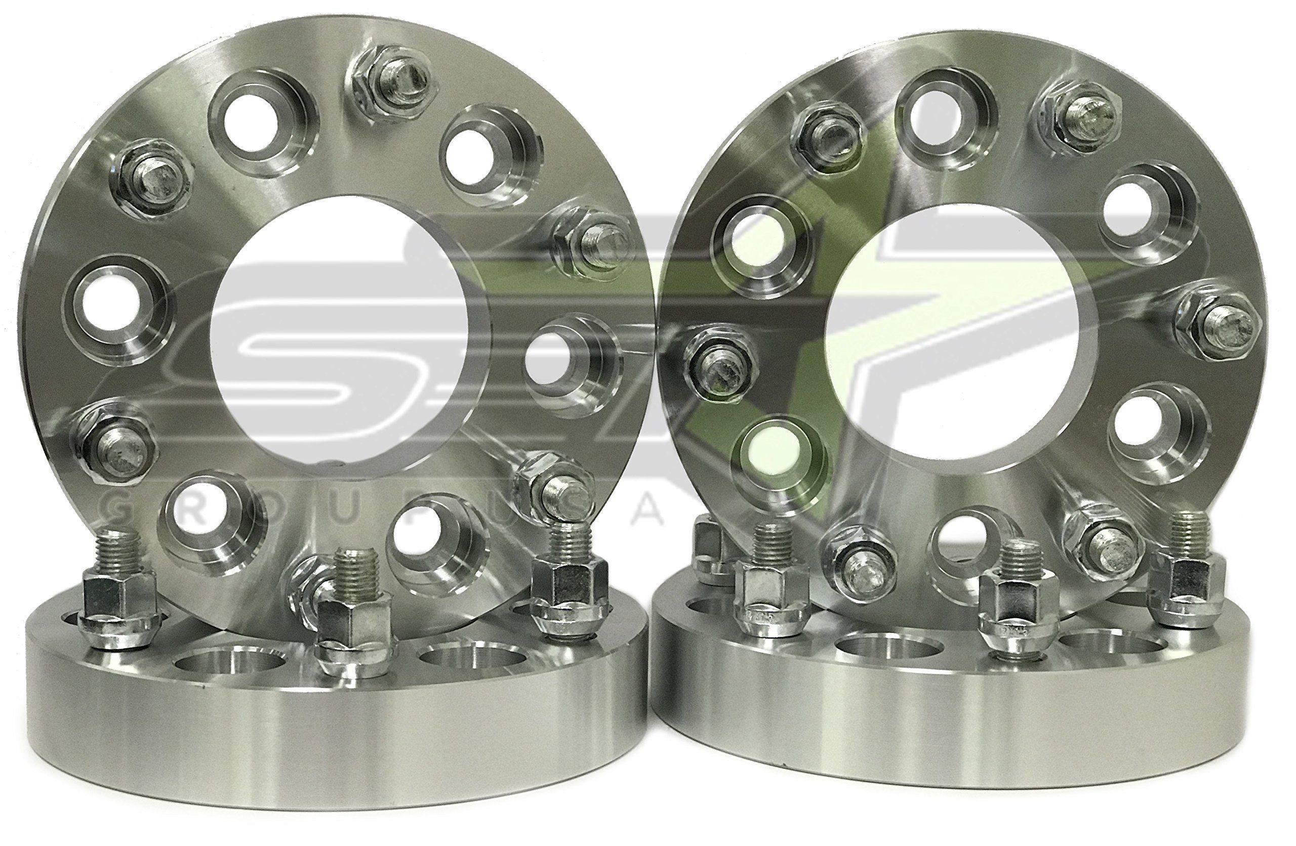 4 Wheel Adapters 6x5 To 6x5 5 6x127 To 6x139 7 Trailblazer Envoy