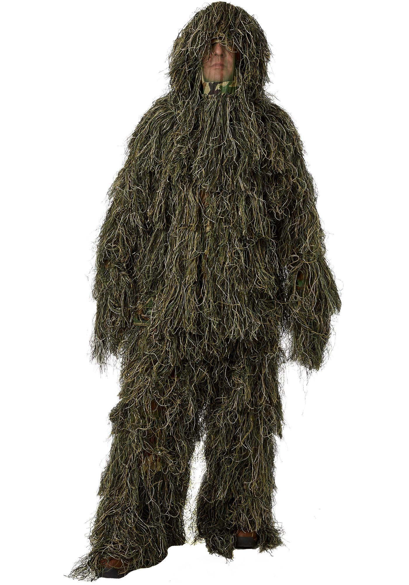 Light Weight Ghillie Suit Woodland Camo Fit Large /& XX-Large Size