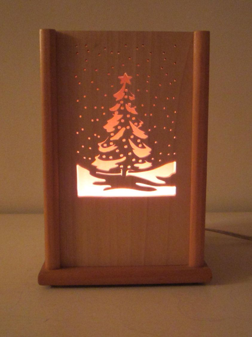 Vintage teak wood night light box lamp accent christmas vintage teak wood night light box lamp accent christmas screensshadow geotapseo Gallery