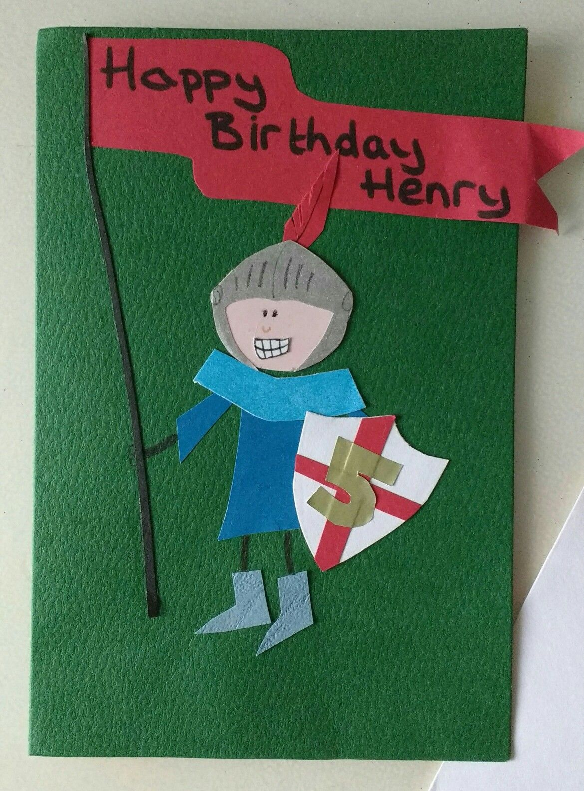 Boys knight collage birthday card my homemade creations pinterest