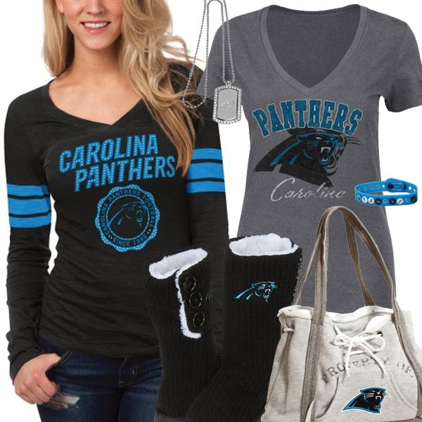 online store fab52 8c9d2 Cute Carolina Panthers Fan Gear | Carolina Panthers Fashion ...