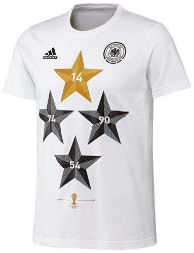 Adidas T Shirt Wc Win Deutschland Dfb Winner T Shirt Wm 2014 S88938 Wm 2014 Shirts Adidas Kinder
