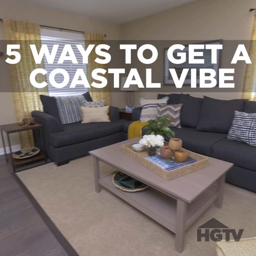 Colorful Beach Condo Makeover: Coastal Decorating Ideas