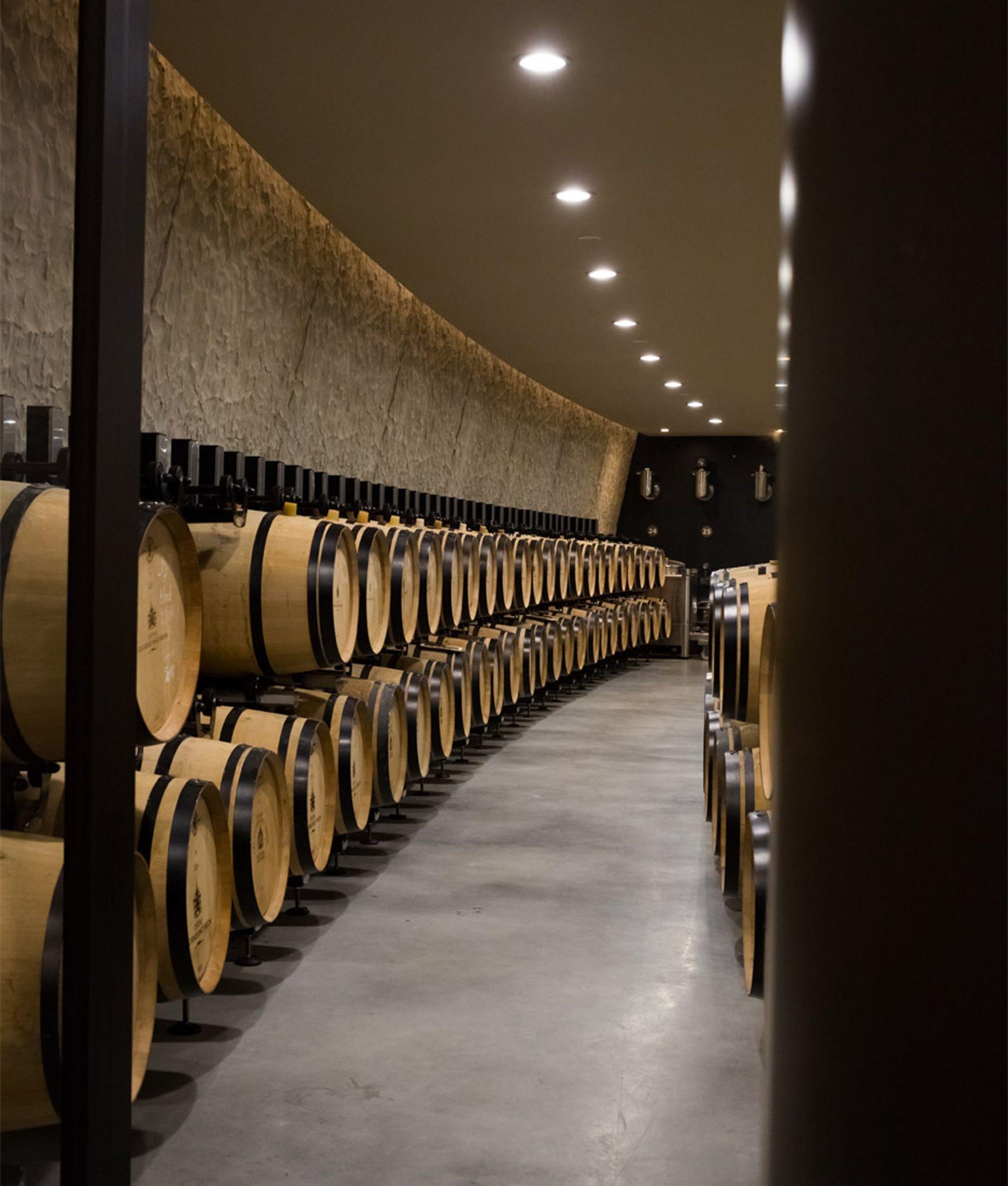 Chateau Les Carmes Haut Brion Winery Interior Modlar Com