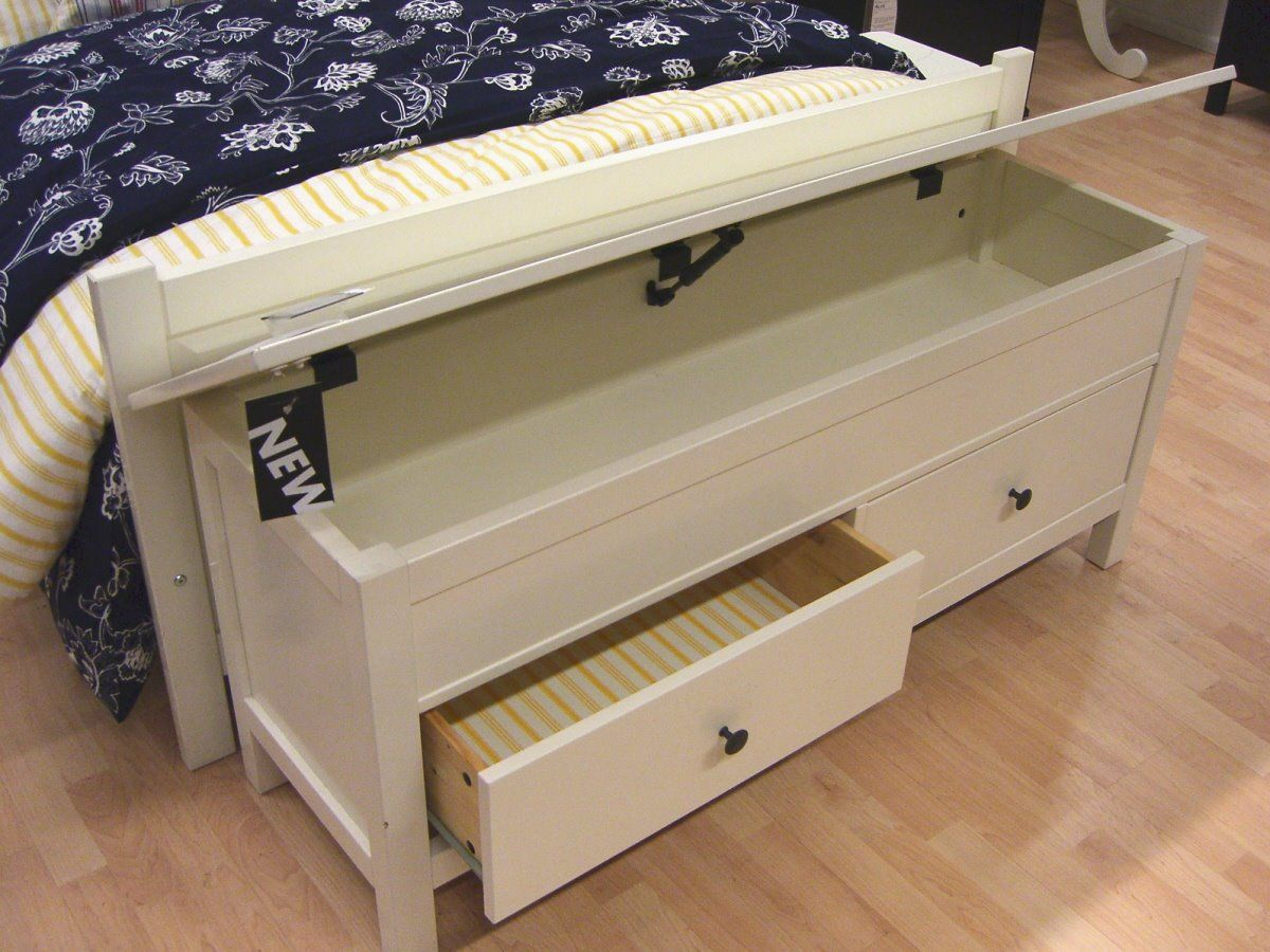 Best This Storage Bench Was From Ikea I Love The Idea Of This 400 x 300