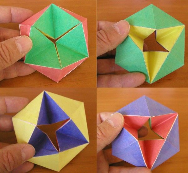 How To Make a Quick & Easy Paper Origami Cootie Catcher Fortune ... | 550x600