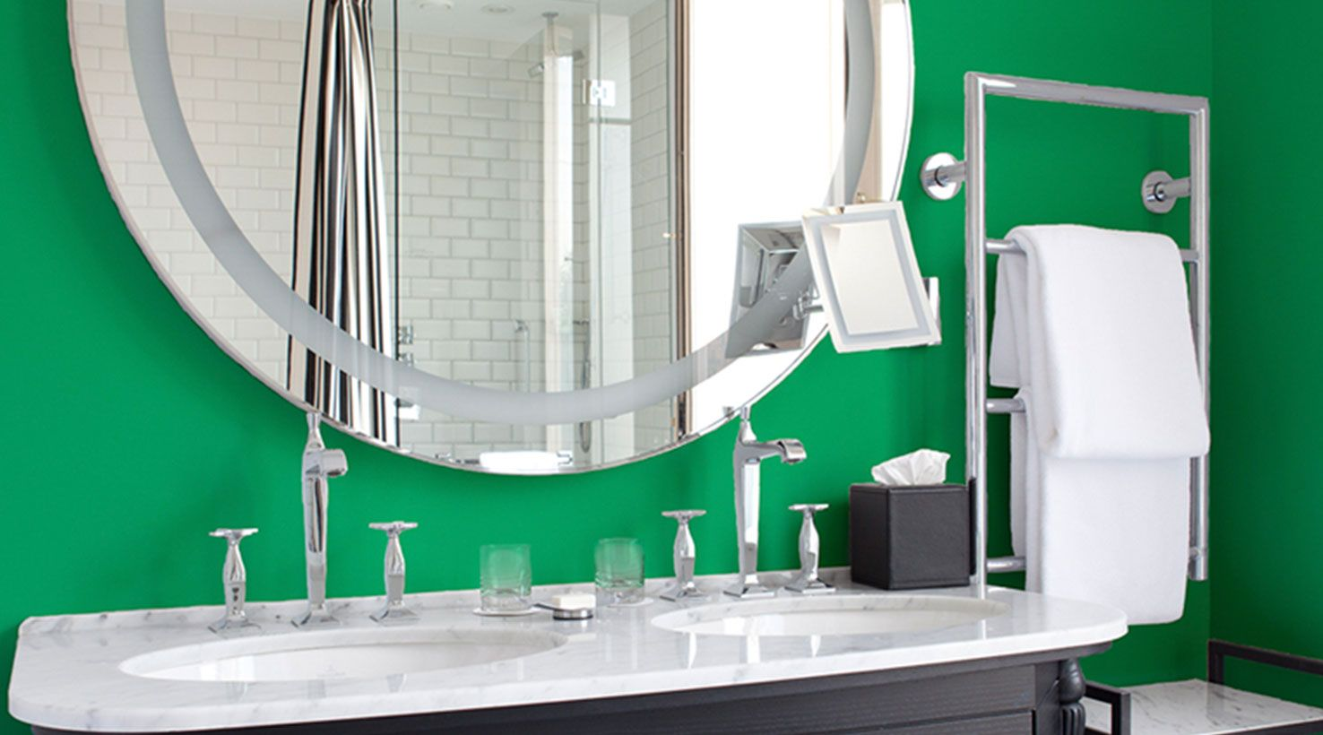 35 beautiful bathroom paint colours that always look