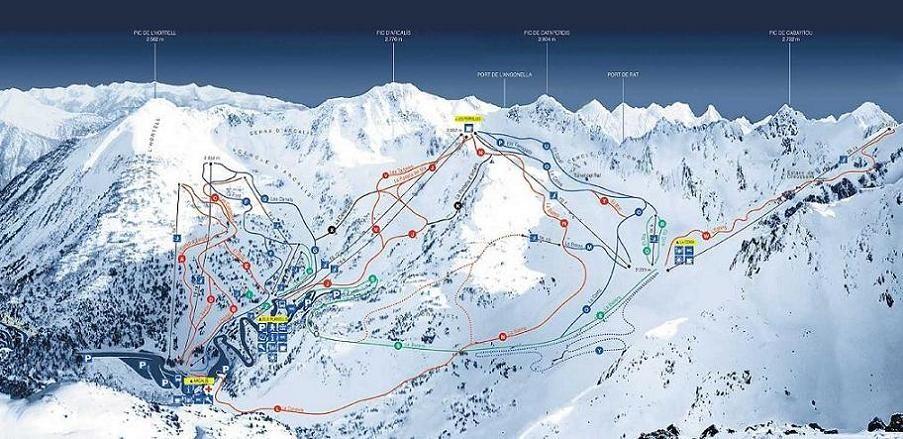 Estación De Esquí Ordino Arcalis Andorra Andorra Estaciones De Esqui Ofertas De Viajes Raquetas De Nieve