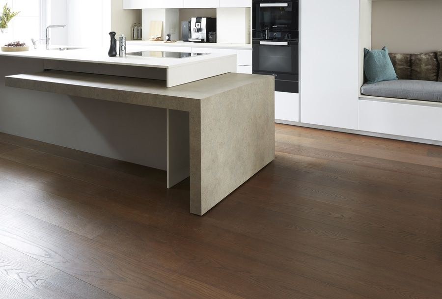 Kitchen With Island And Extractable Table Integrated In A Living By Tm Italiaarchiexpo Kitchen Modular Dining Table In Kitchen Kitchen Tables For Sale