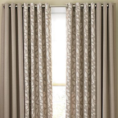 Cindy Crawford Style® Sonoma Grommet-Top Drapery Panels ...