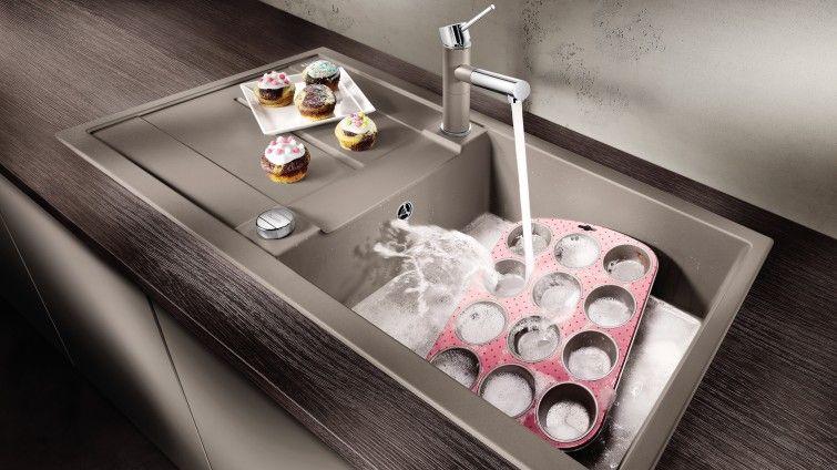 Spule Mit Xl Becken Blanco Metra Xl 6 S Waschbecken Armaturen Kuche