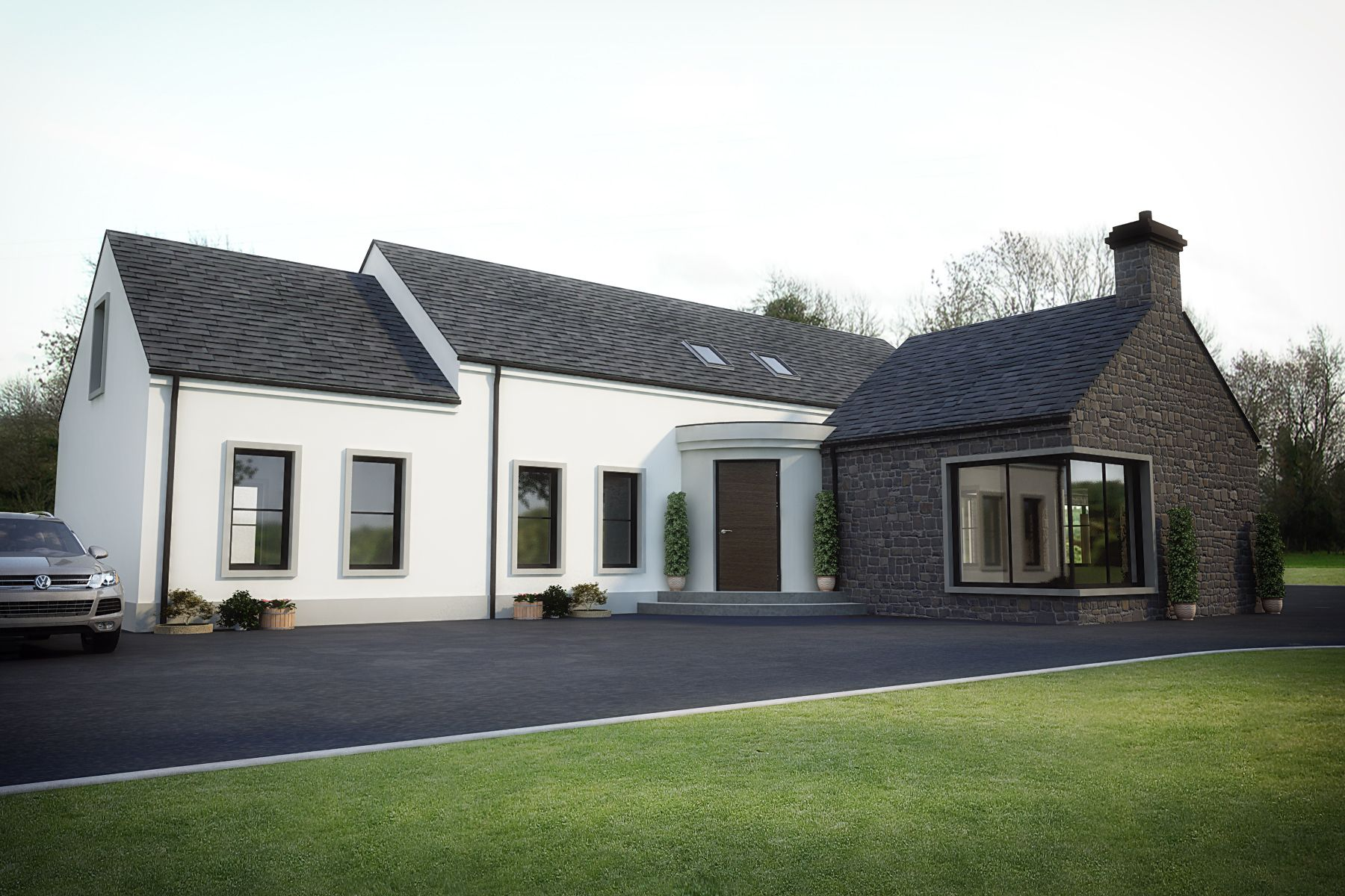 Modern Country House Design Newline Architects House Exterior Country Modern Home Country House Design