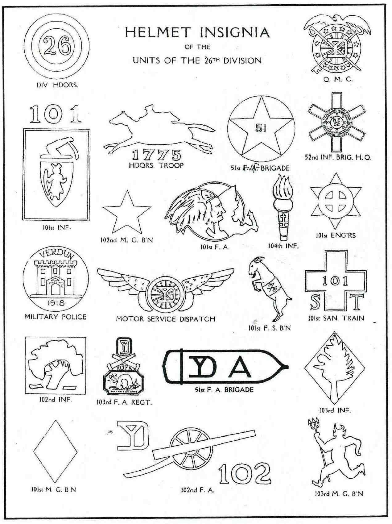 the yankee division insignia i like this stuff pinterest wwi 102nd Infantry Battalion the yankee division insignia soldiers mail