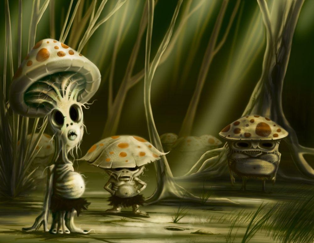 Mushroom Creatures Google Search Mushroom Stuffed
