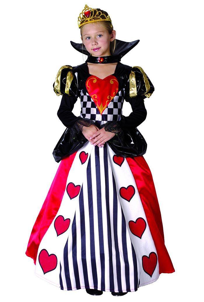 queen of hearts costume queen of hearts toddler queen girl of hearts costume teeny girls halloween girls costume kids halloween costume sc 1 st pinterest