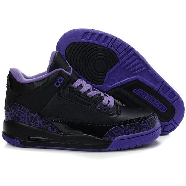 Buy Purchase Wholesale Cemenst Cemenst Air Jordan 3 Iii Retro Black Purple  Womens Shoes New from Reliable Purchase Wholesale Cemenst Cemenst Air  Jordan 3 ...