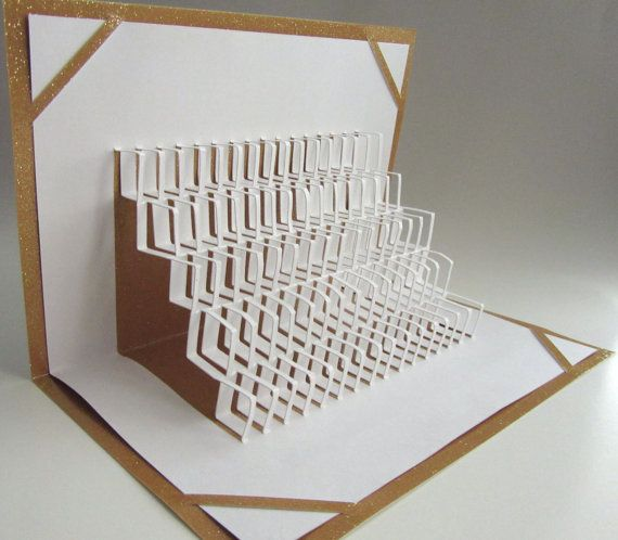 Home Decor Pop Up 3D Origamic Architecture Geometric By BoldFolds 3500
