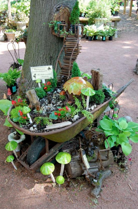 Fairy Garden Ideas The Cutest Collection | Pinterest | Fairy, Garden ...