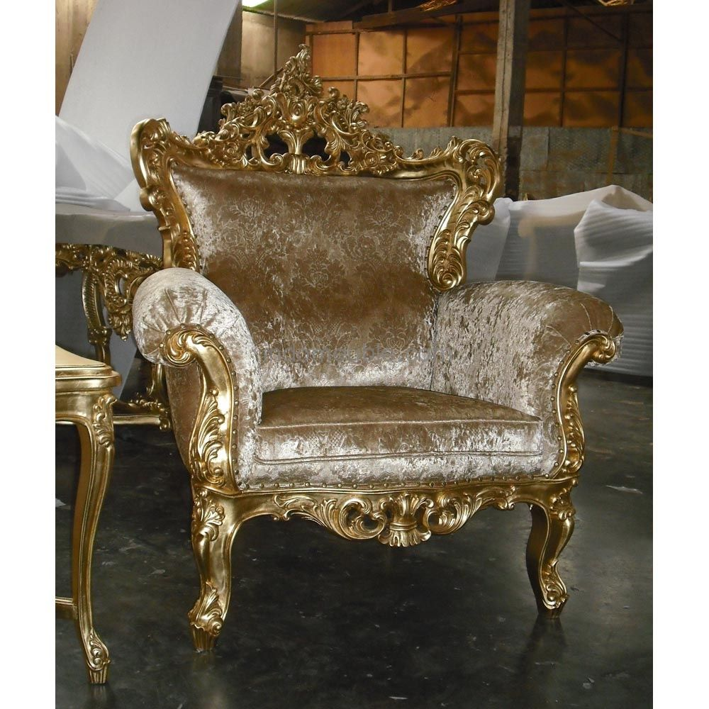 Baroque Furniture Reproductions Gold leaf baroque