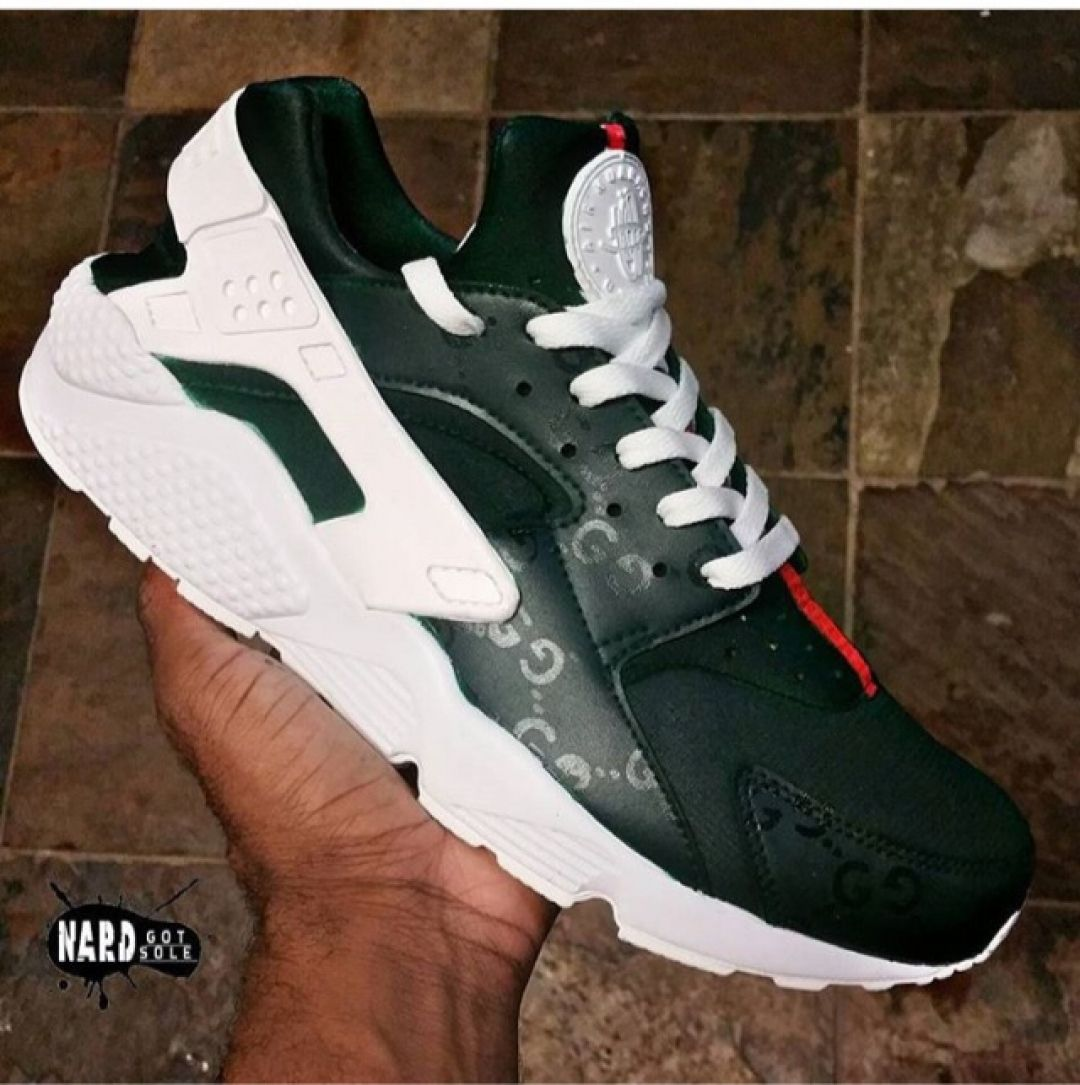 692d737c437b1f Tag someone who would cop these Gucci Huaraches by  nardgotsole htx   customizerdepot
