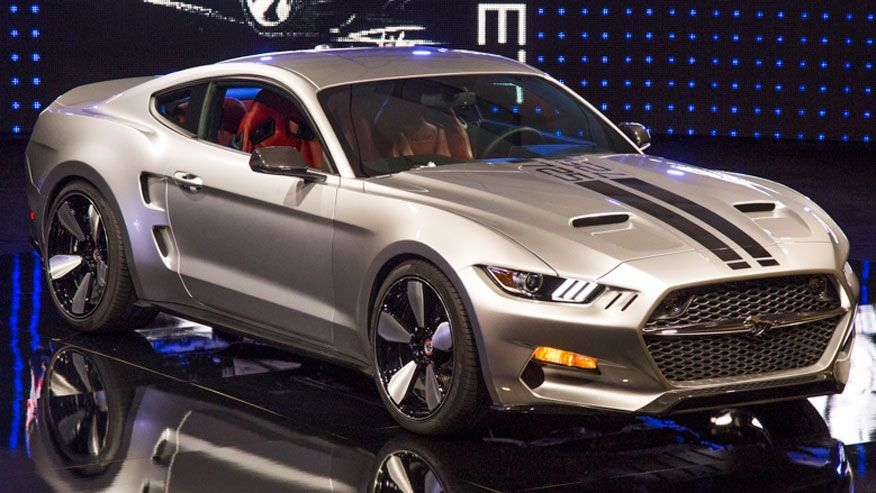 Fiskars The Rocket Mustang 2017 Ford Shelby Gt500