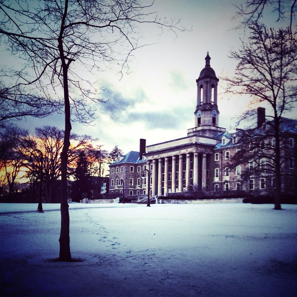 Old Main At Pennsylvania State University Psiloveu