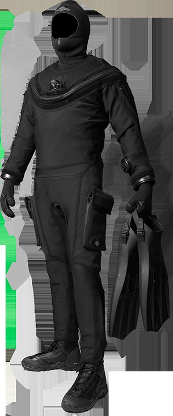 Whites Fusion Tactical MCM Drysuit   Stylish concept   Scuba diving
